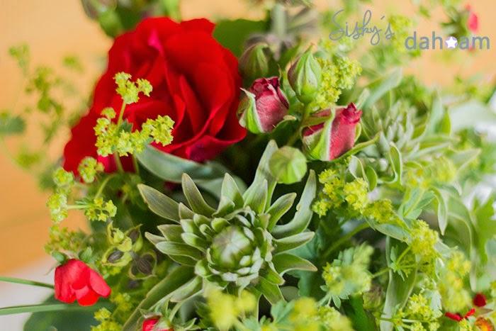 Blüte einer Hosta