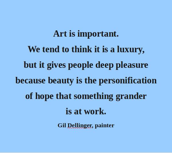 Quotes Importance Of Art Quotesgram