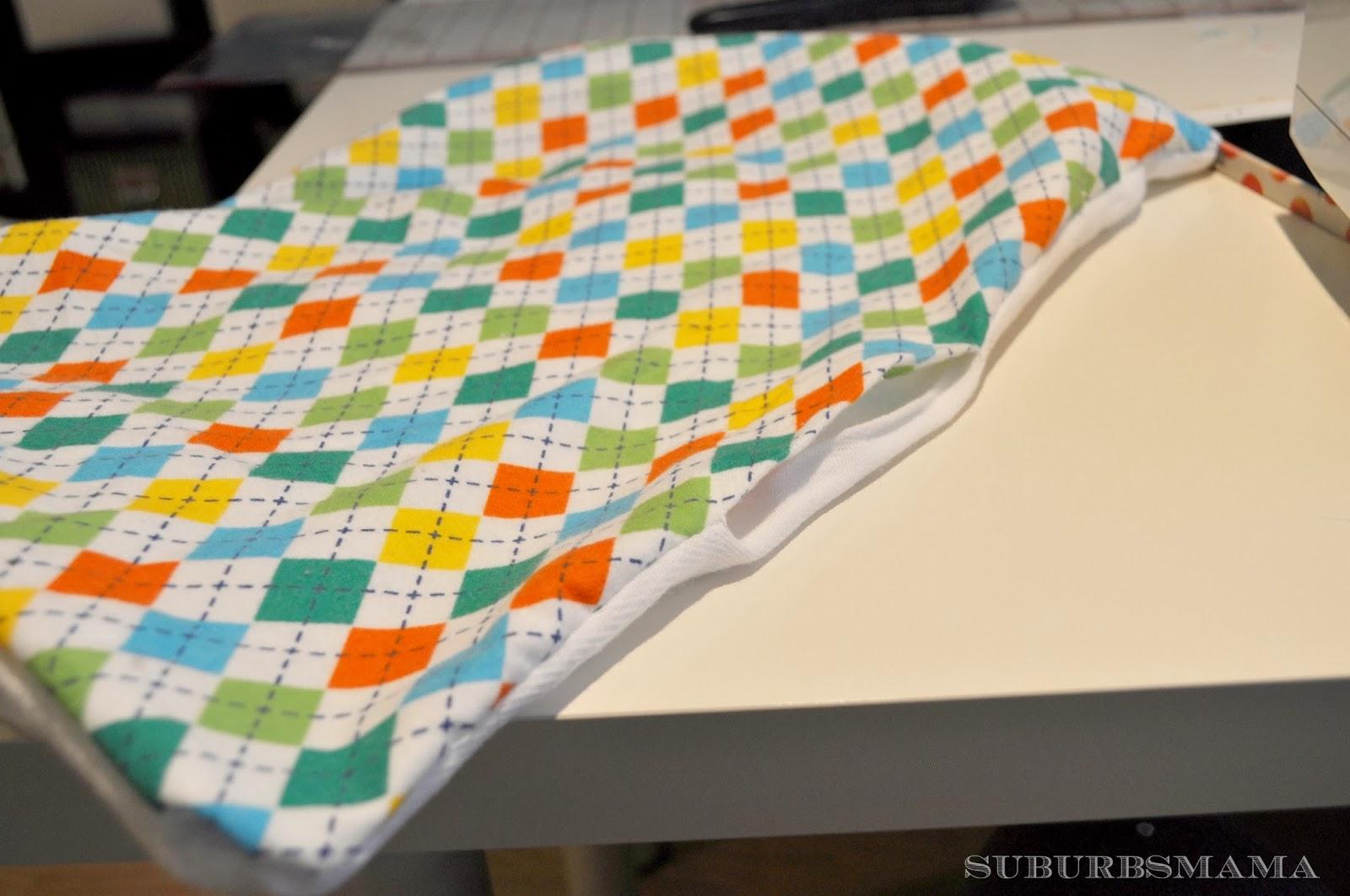Suburbs mama baby burp cloth tutorial baditri Image collections