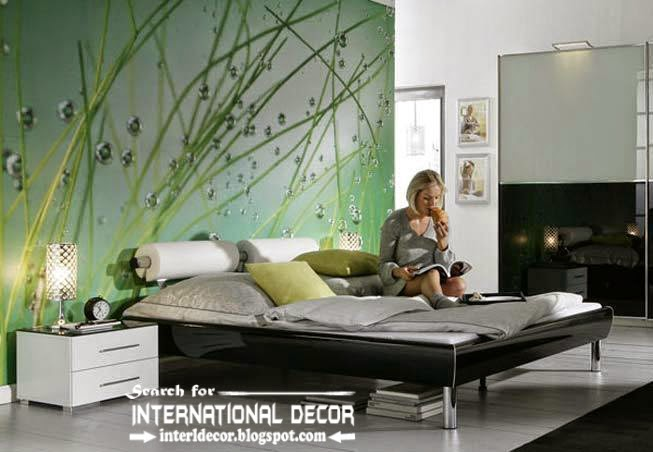 Wall Murals Wallpaper, Wall Covering Ideas, Bedroom Wall Mural Part 45