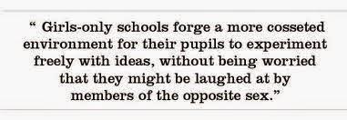 opposite of co education
