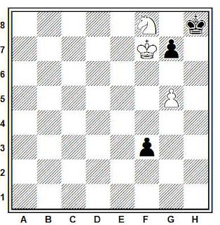 Problema ejercicio de ajedrez número 690: Estudio de Joaquim Travesset Barba (1974)