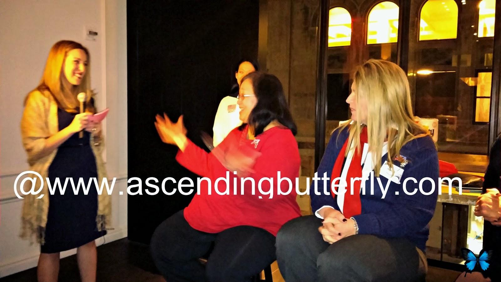 Vera Sweeney Moderates Panel with Team USA Olympic Hockey Moms