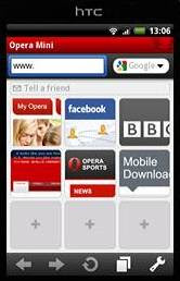 Opera Mini 5.1 Handler for Android .apk