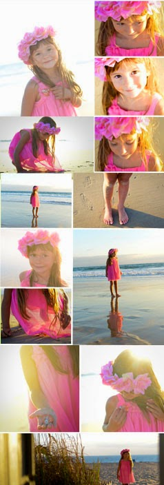 child portrait photographer - beach portrait ideas
