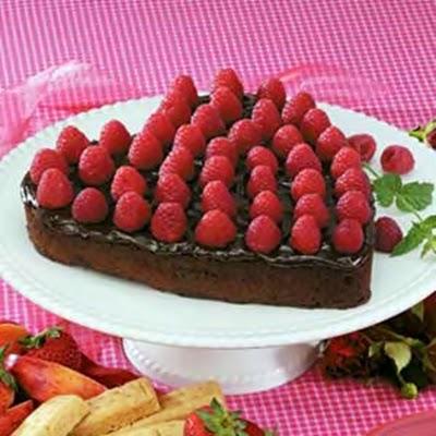 Devilish Valentine's Cake