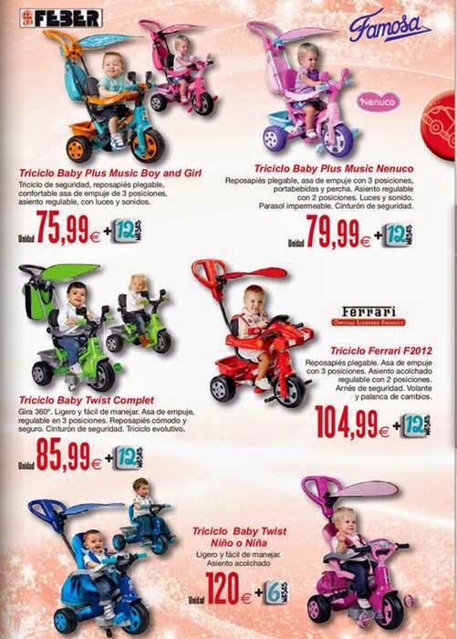 triciclos para bebes navidad 2014 hipercor