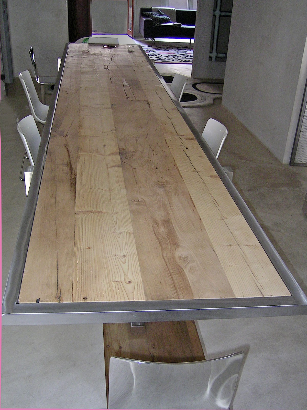 Tutto ha inizio da un 39 idea aprile 2012 for Tavolo acciaio design