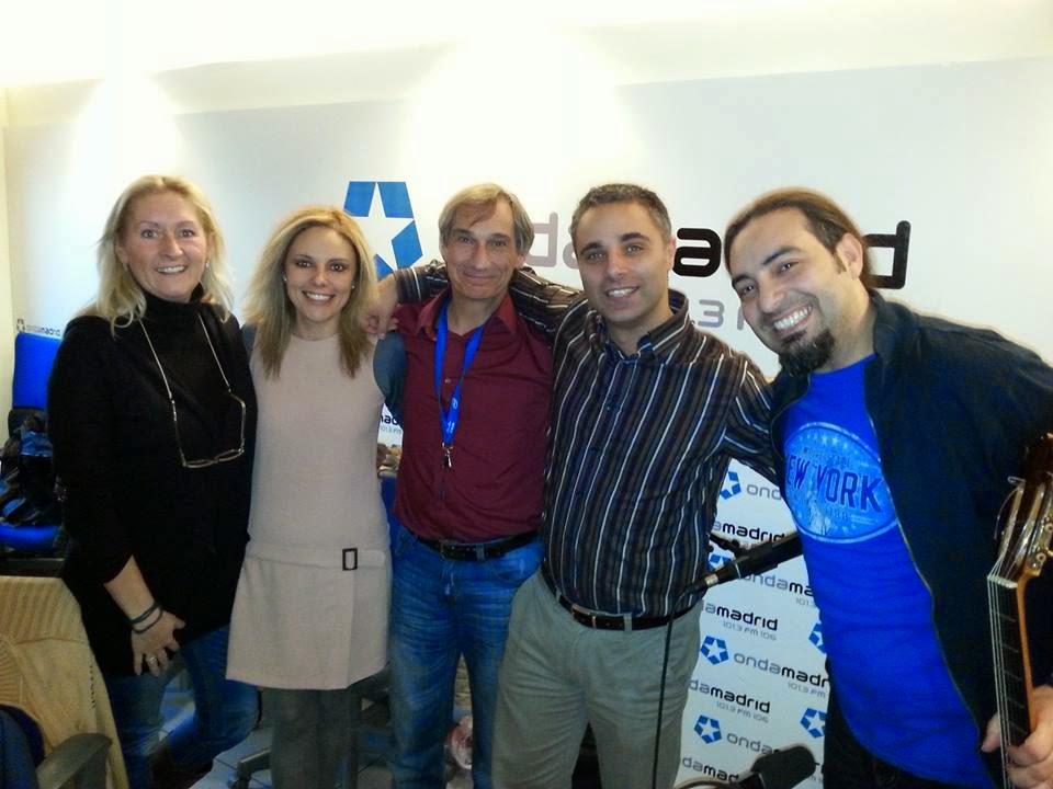 Miguel Ángel y Yolanda Iscar, Alain Pérez y Curro Castillo.