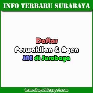 Daftar Alamat Perwakilan dan Agen JNE di Surabaya