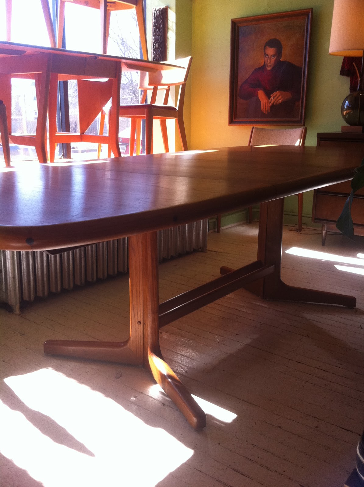 Teak D Scan Dining Room Table U0026 Chairs