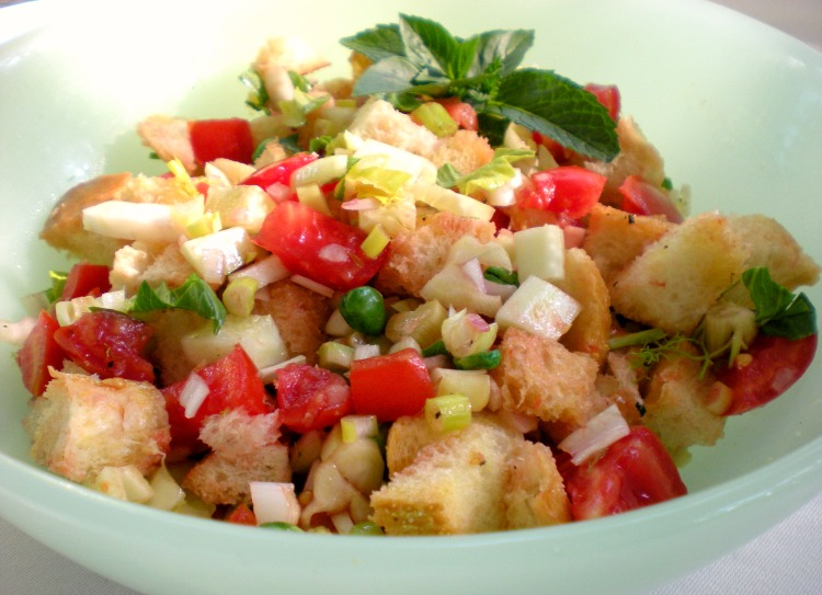 Panzanella Bread Salad Recipes — Dishmaps