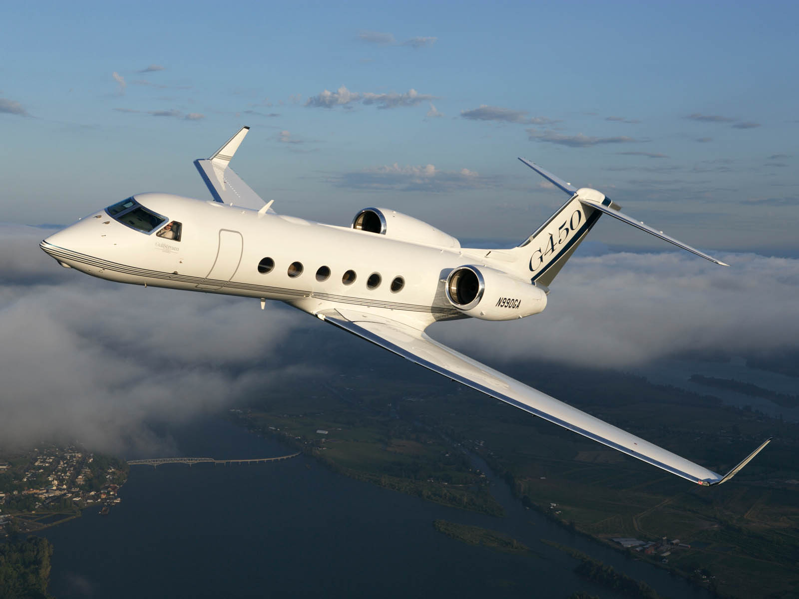 Wallpapers Gulfstream V Aircraft Photos