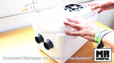 Comment fabriquer un climatiseur facilement