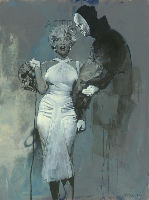 Marilyn Monroe - New Pop Realism - Sebastian Krüger 1963