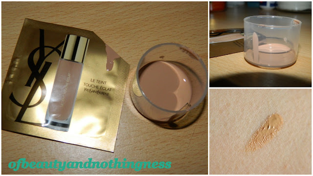 YSL Touche Eclat Foundation: Initial Impressions