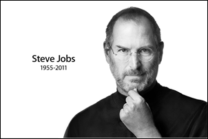 Steve Jobs perde sua luta contra o câncer.