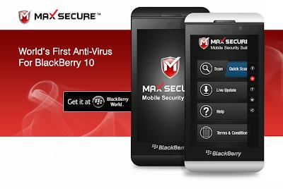Muchos se preguntarán ¿Para que necesitamos un Antivirus en BlackBerry 10 si es una de las plataformas mas seguras? BlackBerry 10 es una de las plataformas móviles más seguras en el mercado. Para que sea aún más segura, Max Secure Software ha lanzado Max Mobile Security para BlackBerry 10. Max Mobile Security fue construido con cascades y posee características de escaneado rápido, para la tarjeta de memoria, escanea la base de datos de tu dispositivo completa y tiene integración al BBM. La aplicación está hecha para protegerte de lo siguiente: Virus maliciosos de Android al ejecutar aplicaciones para BB10. El
