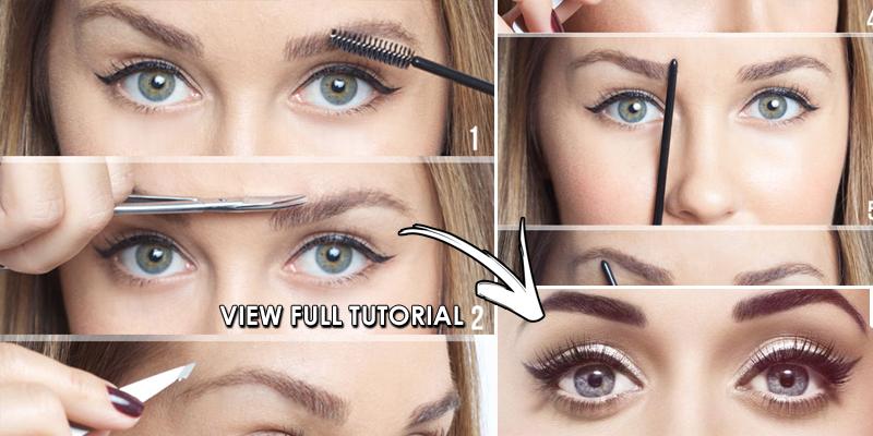 8 Steps To Perfect Eyebrows B G Fashion