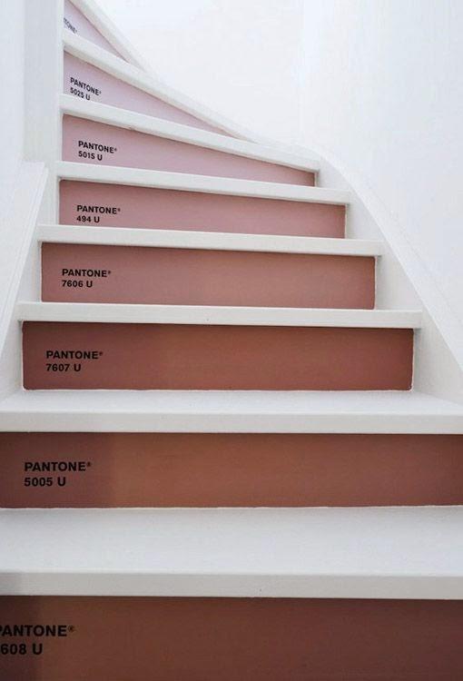 M nica castillo escaleras como decorar los escalones - Vinilos para escaleras ...