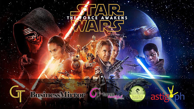 On December 16, 2015 at 10:00 PM, Golden Ticket Events will be holding a special advance screening of Star Wars Episode VII: The Force Awakens at the SM Megamall Cinema 3.