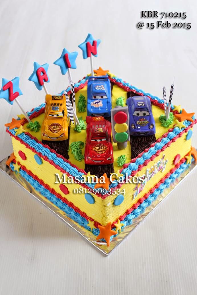 Masama Cakes Cars Birthday Cake For Zain