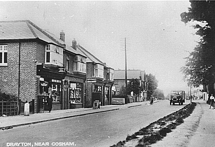 The Havant Road 1920s