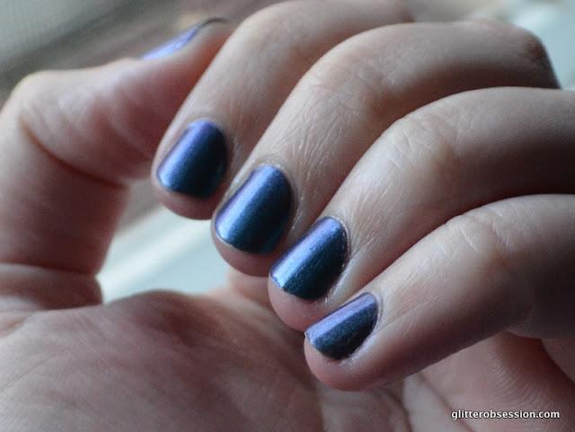 Sally Hansen Black and Blue swatch
