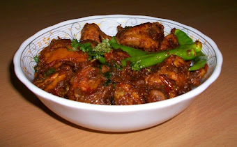 Karahi Chicken served in bowl
