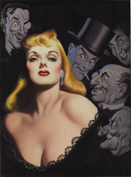 earle bergey illustration