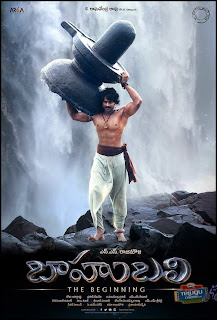 Prabhas with six pack for Bahubali