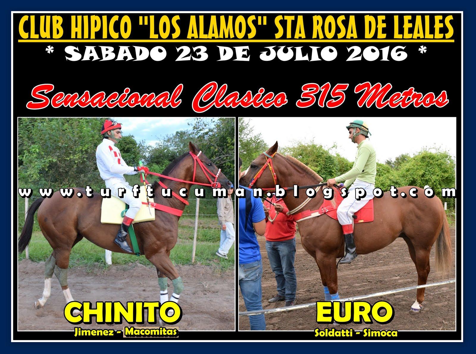 CHINITO VS EURO