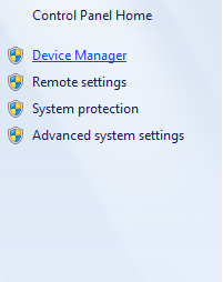 Device Manager di Komputer Windows 7