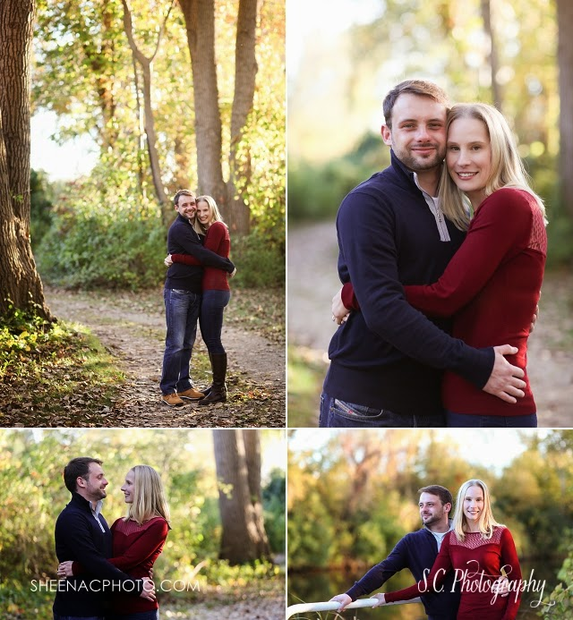 S.C. Photography, Saint Joseph Fall Photography Michigan engagement session