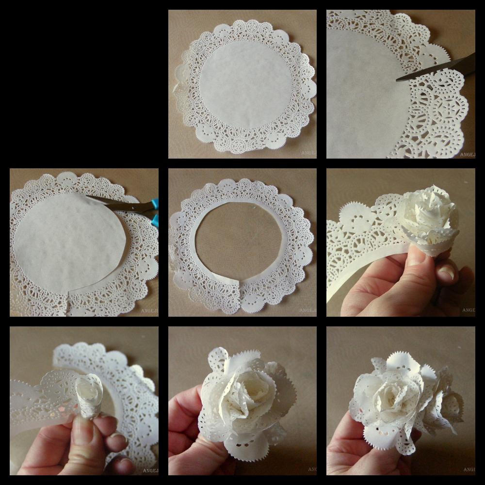Una pizca de hogar las mejores ideas para decorar con - Que faire avec des napperons en papier ...