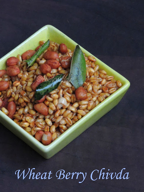 Chivda with Wheat Berry
