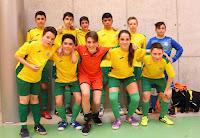 Los infantiles del Sporting Nava terceros en el Torneo Kelme-Ciudad de Segovia