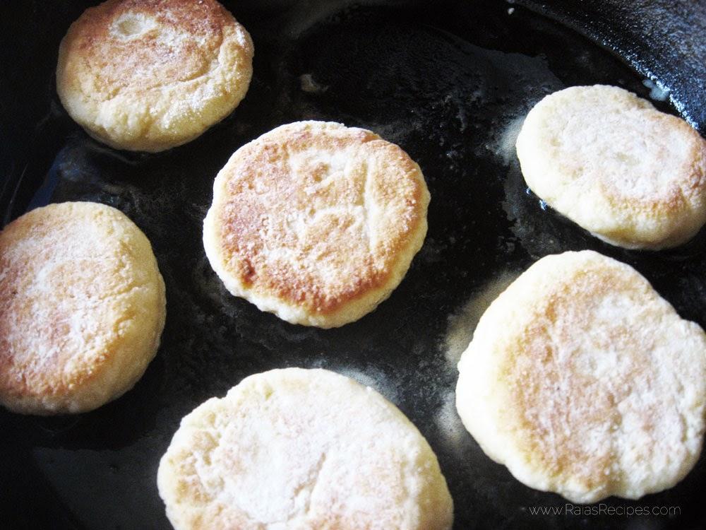 Syrniki | Russian Fried Cheese Cakes | www.RaiasRecipes.com