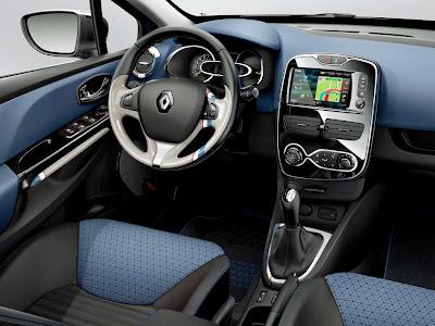 Interior de Renault Clio 2013