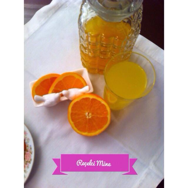 portakal şerbeti
