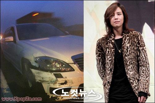 Jang Geun Suk ประสบอุบัติเหตุทางรถยนต์