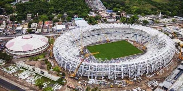 Foto-foto Stadion Piala Dunia 2014