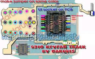 nokia 5310 keypad problem