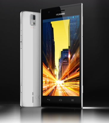 Huawei Ascend P2 Fastest 4G LTE Phone