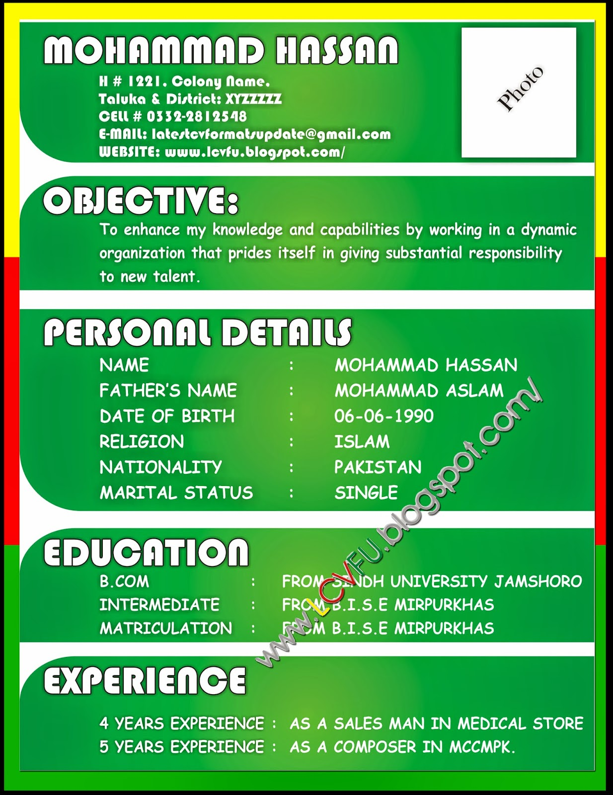 New Resume Format resume format freshers free resume example and – Latest Resume Format for Freshers