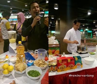 Chef hengki dari as home gourmet
