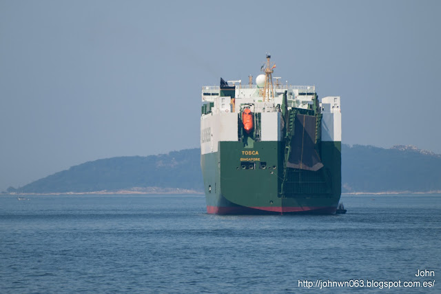 tosca, car carrier, vehicles carrier, wallenius, bouzas