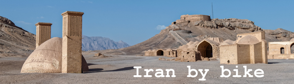 Iran by bike