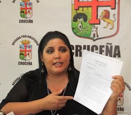 valiente Jessica. felicita a los verde olivo patriotas, condena a los guardaespaldas de narcos