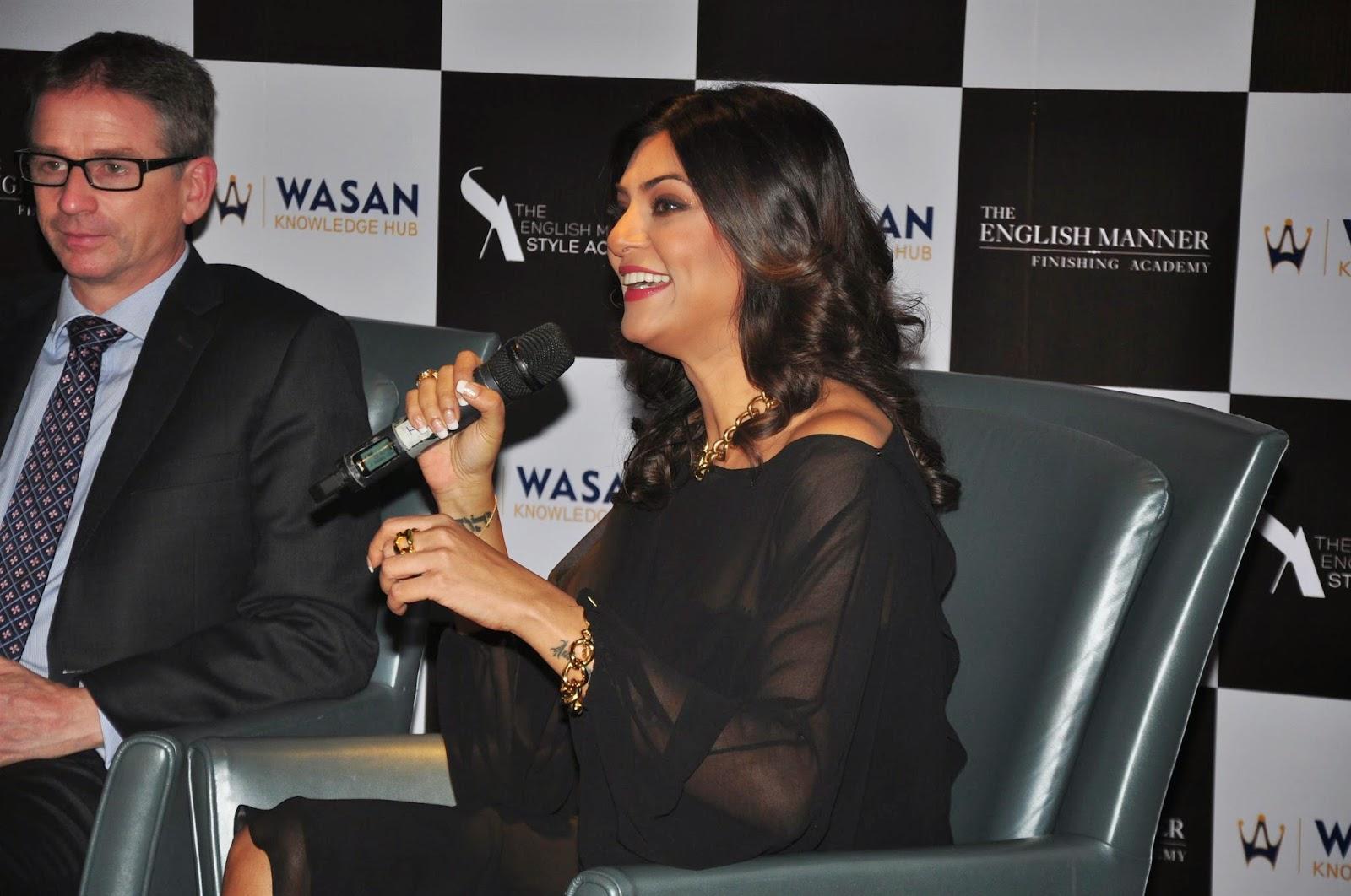 Sushmita Sen launches Wasan Group's Academy Photos
